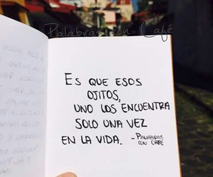 eyes, quotes, and frases en español image