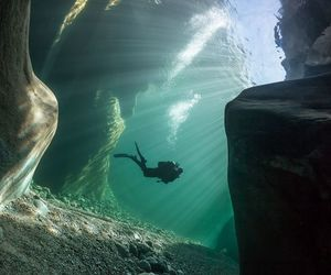 diving, travel, and Dream image