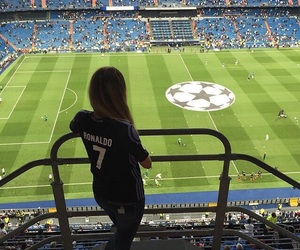 madrid, real madrid, and soccer girl image