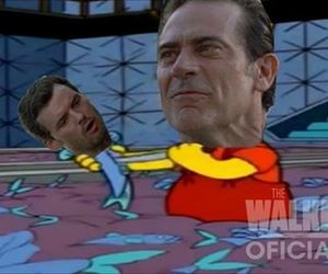 serie, negan, and twd image