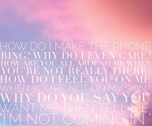 iphone, Lyrics, and pink image