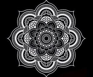 mandala, overlay, and art image