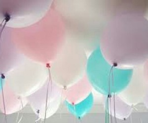 beauty, globos, and colors image