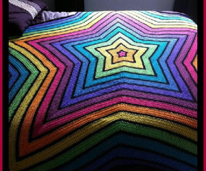 crafts, crochet, and star image