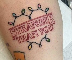 tattoo and stranger things image