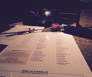 date, restaurant, and valentines image
