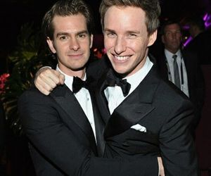 eddie redmayne, andrew garfield, and golden globes image