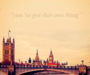 one direction, london, and one thing image