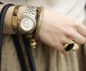 accessories, bracelet, and ring image