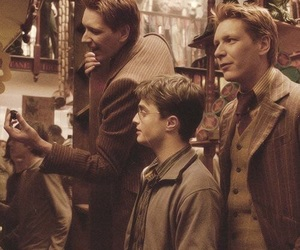 harry potter, Fred, and weasley image