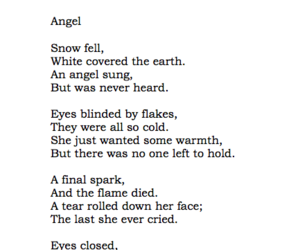 angel, broken, and cold image