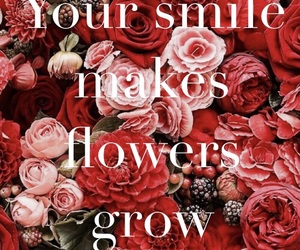 flowers, smile, and your smile image