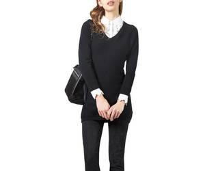 business casual, work clothes, and womens work sweater image