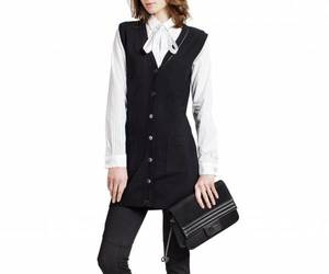 business casual, sweater vest, and sleeveless cardigan image