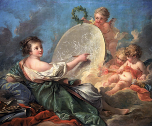 18th century, pale, and pastel image