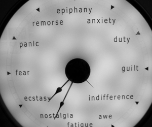 clock, anxiety, and fear image