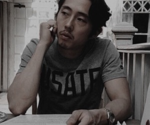 twd, the walking dead, and steven yeun image