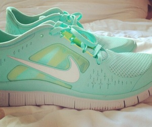 fitness, green, and shoes image