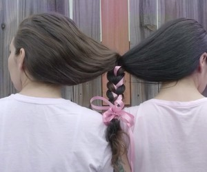 trenzas, cabello, and friends image