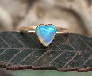 beauty, heart, and jewellery image