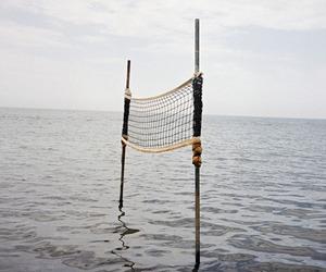 volleyball sea image