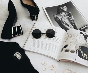 shoes, style, and magazine image