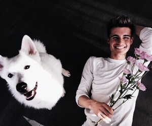 chris collins and dog image