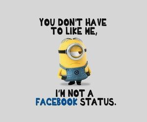 minions, facebook, and funny image