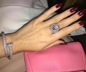 girl, luxury, and diamond image