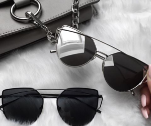 sunglasses, accessories, and bag image