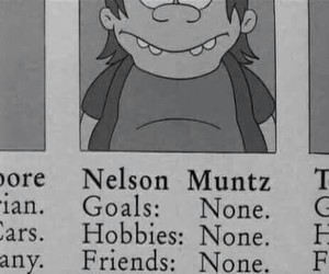 the simpsons, simpsons, and nelson image