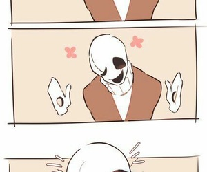 gaster, undertale, and baby sans image