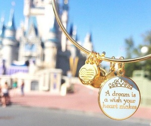 disney, Dream, and bracelet image