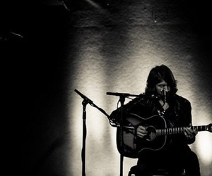 acoustic guitar and alex turner image