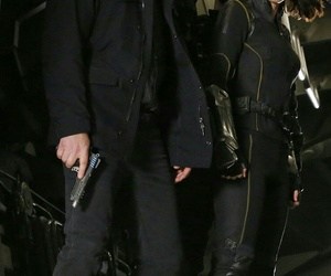 quake, phil coulson, and chloe bennet image
