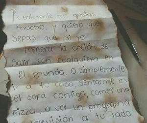 love, frases, and carta image