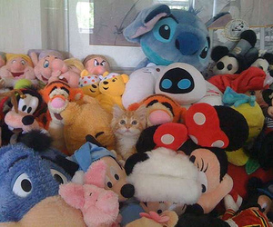 disney, Marvin, and cat image