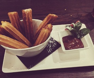 churros, dessert, and food image
