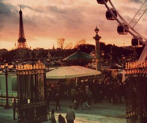 paris, vintage, and city image