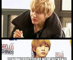 funny, meme, and shinee onew image