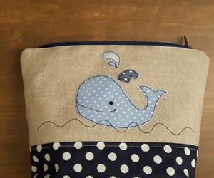 etsy, free motion, and whale applique image