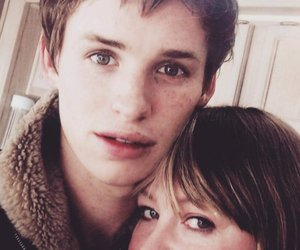 eddie redmayne and baby redmayne image
