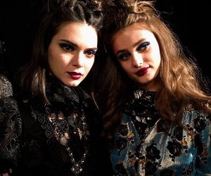 kendall jenner and taylor hill image