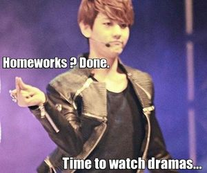 drama, exo, and baekhyun image