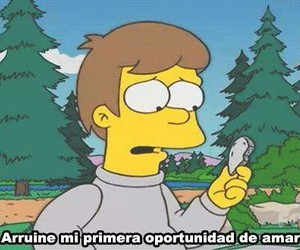 love, frases, and homer image