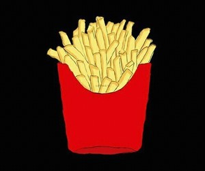 food, food lover, and fries image