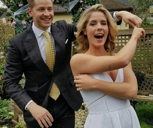 arrow, happy, and josh dallas image