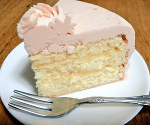 cake, color, and pink image