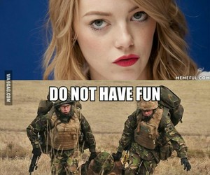 funny, girls, and abort mission image