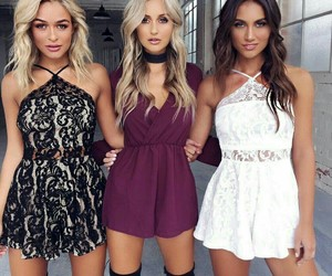 fashion, dress, and goals image
